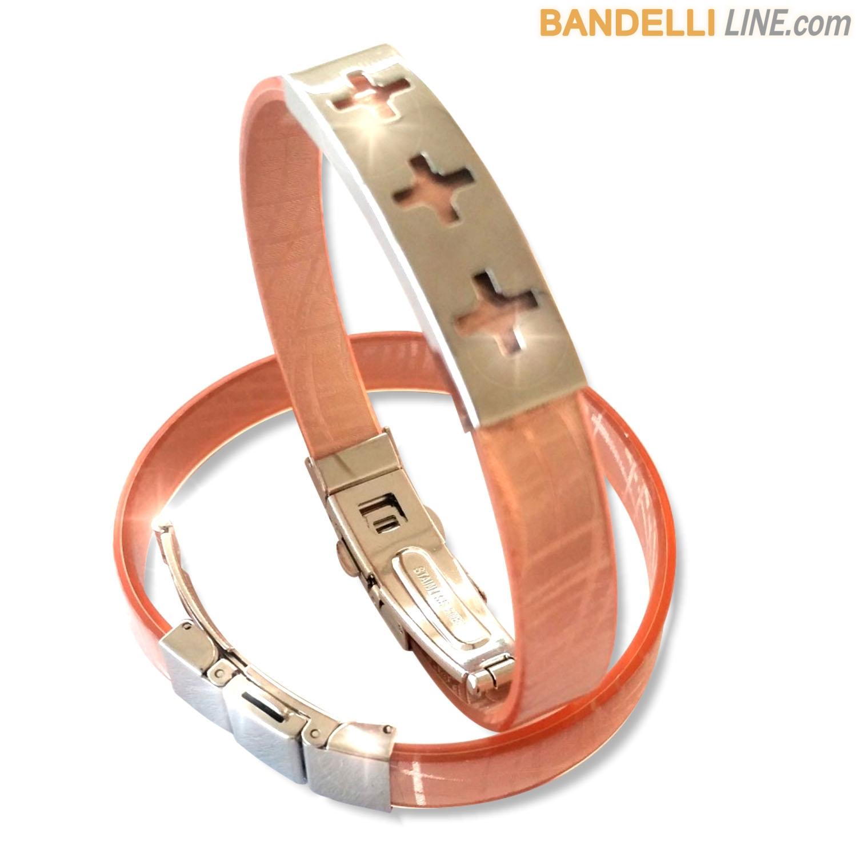 Arcobaleno - Braccialetto Ring Rame A