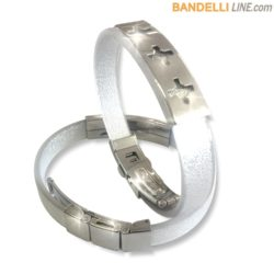 Arcobaleno - Braccialetto Ring Argento D - Ring Silver D