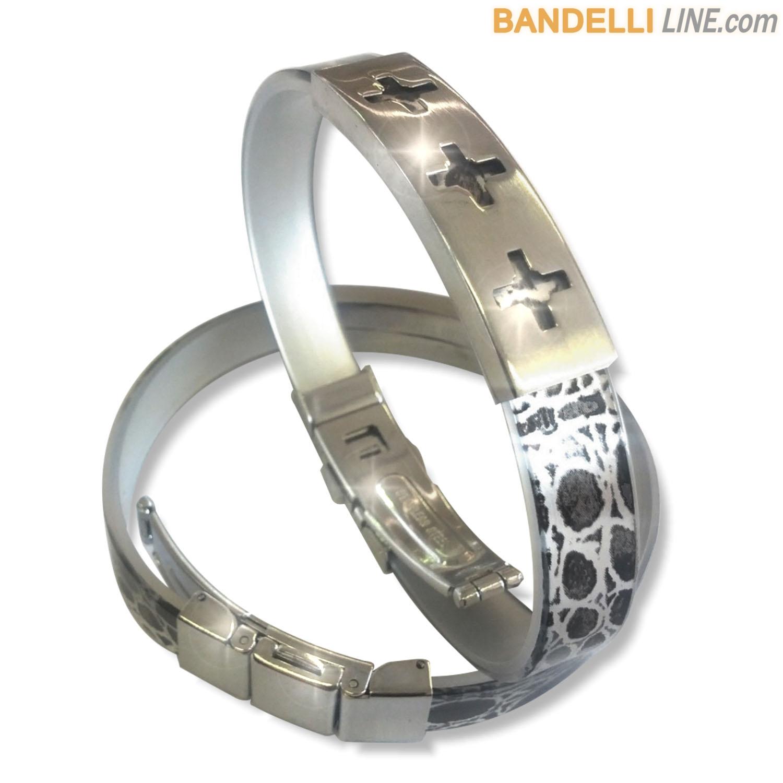 Arcobaleno - Braccialetto Ring Nero C - Ring Black C
