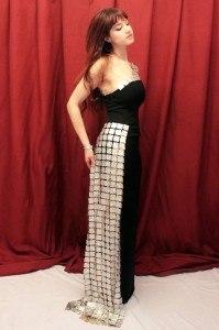 Abito Armonia su modella - Dress Armonia