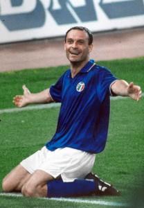 Totò Schillaci - Mondiali di Calcio Italia 90 - World Cup