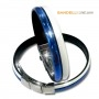 Onda 2 Bianco Blu Lucido - Shiny White Blue