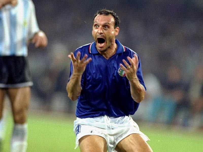 Totò Schillaci mondiali Italia 90 presenta Bandelli Line - World Cup