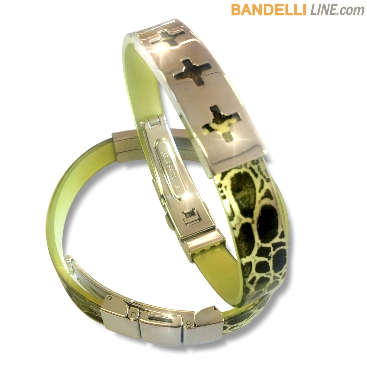 Arcobaleno - Braccialetto Ring Giallo A - Ring Yellow A