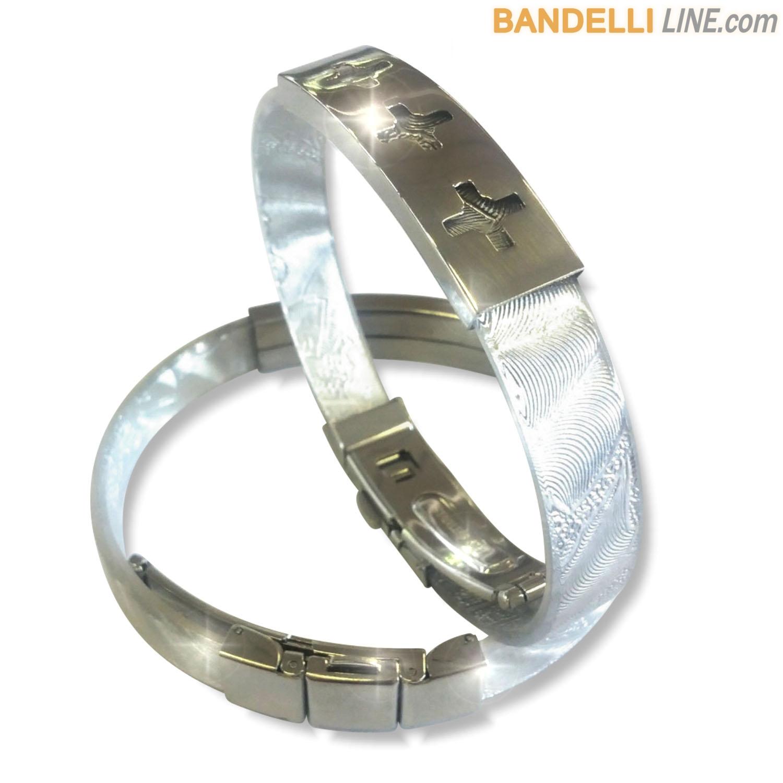 Arcobaleno - Braccialetto Ring Argento A