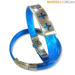 Arcobaleno - Braccialetto Ring Blu A - Ring Blue A