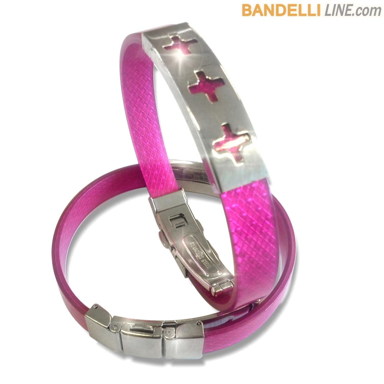 Arcobaleno - Braccialetto Ring Ciclamino B - Ring Cyclamen B