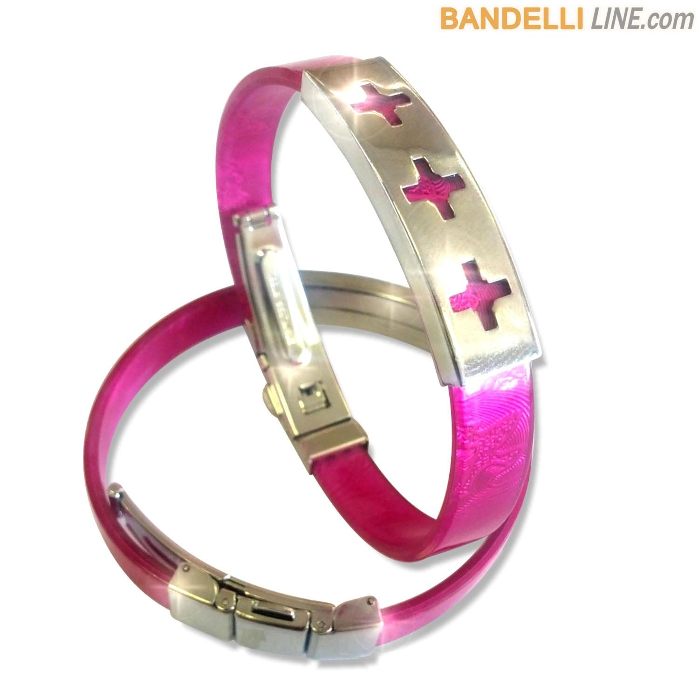 Arcobaleno - Braccialetto Ring Ciclamino C - Ring Cyclamen C