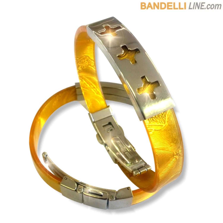 Arcobaleno - Braccialetto Ring Oro B - Ring Gold B