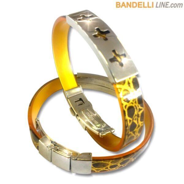 Arcobaleno - Braccialetto Ring Oro C - Ring Gold C