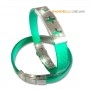 Arcobaleno - Braccialetto Ring Verde C - Ring Green C