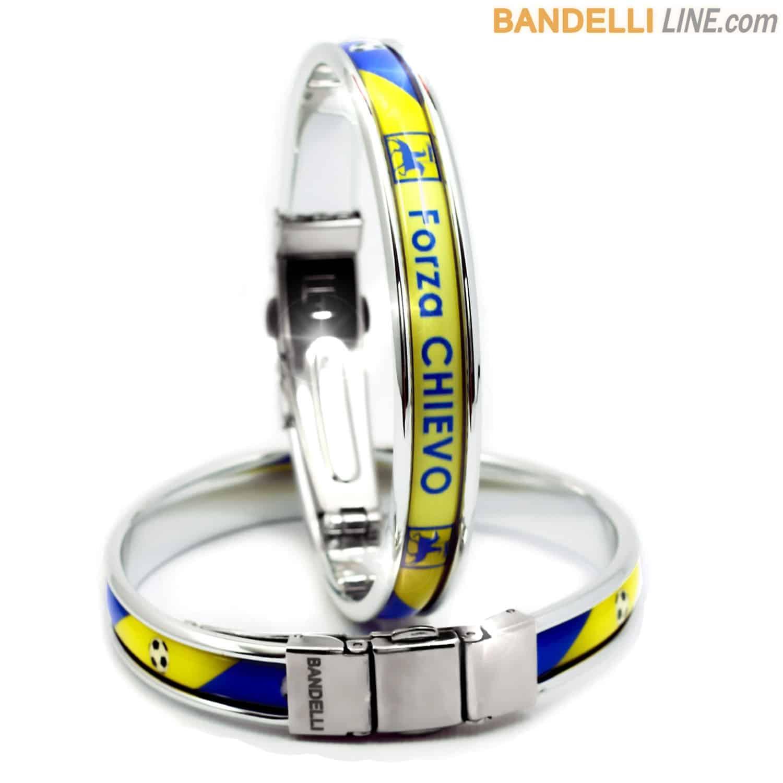Braccialetto Forza Chievo - Gadget Chievo Calcio - Bracelet Forza Chievo