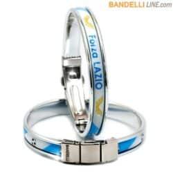 Braccialetto Forza Lazio - Gadget Lazio Calcio - Bracelet Forza Lazio