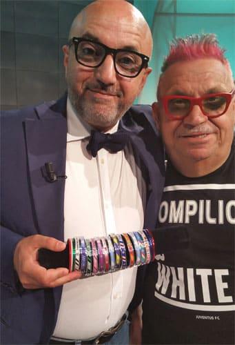 Mimmo Pesce e Cesare Pompilio di TeleLombardia