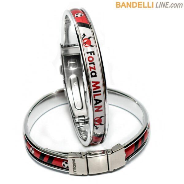 Braccialetto Forza Milan - Gadget Milan Calcio - Bracelet Forza Milan