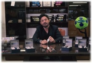 Toto Schillaci wear our new Watch
