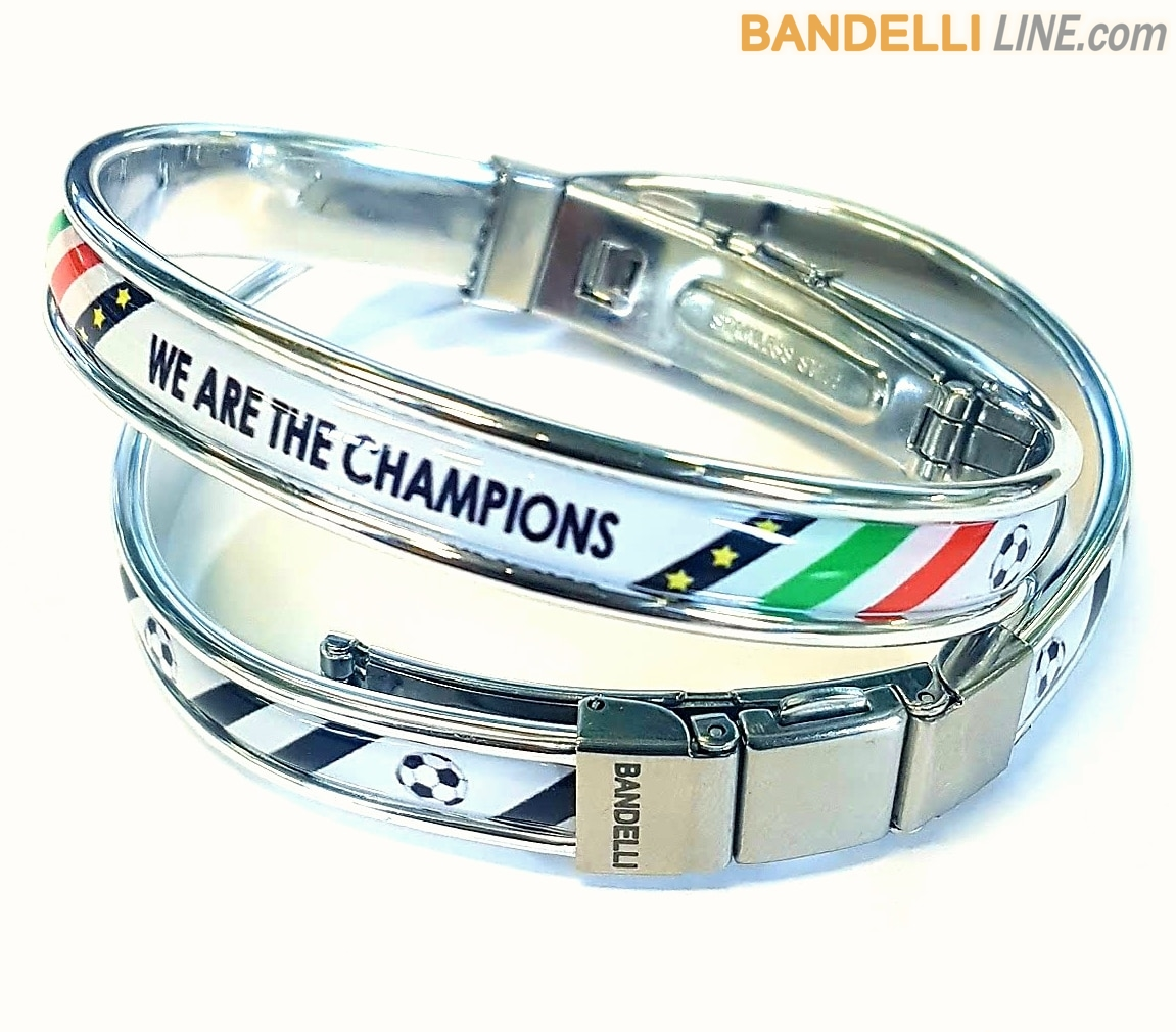 Braccialetto Juventus We are the Champions , Braccialetti Juventus