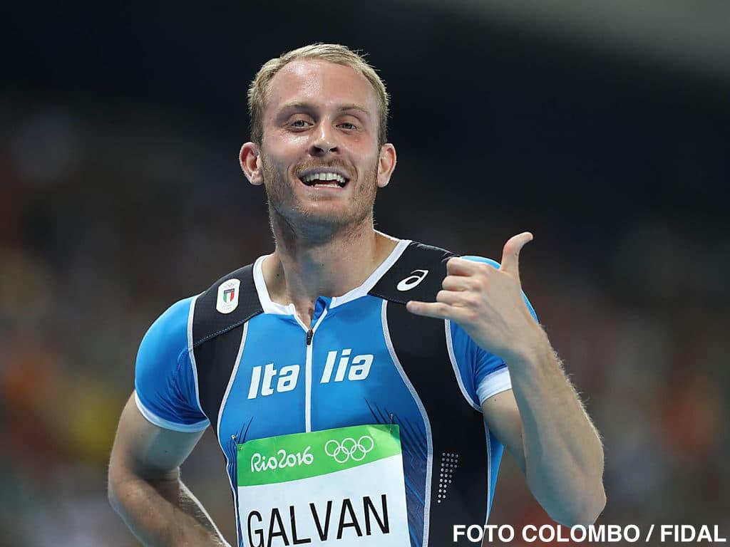 Matteo Galvan in Pista