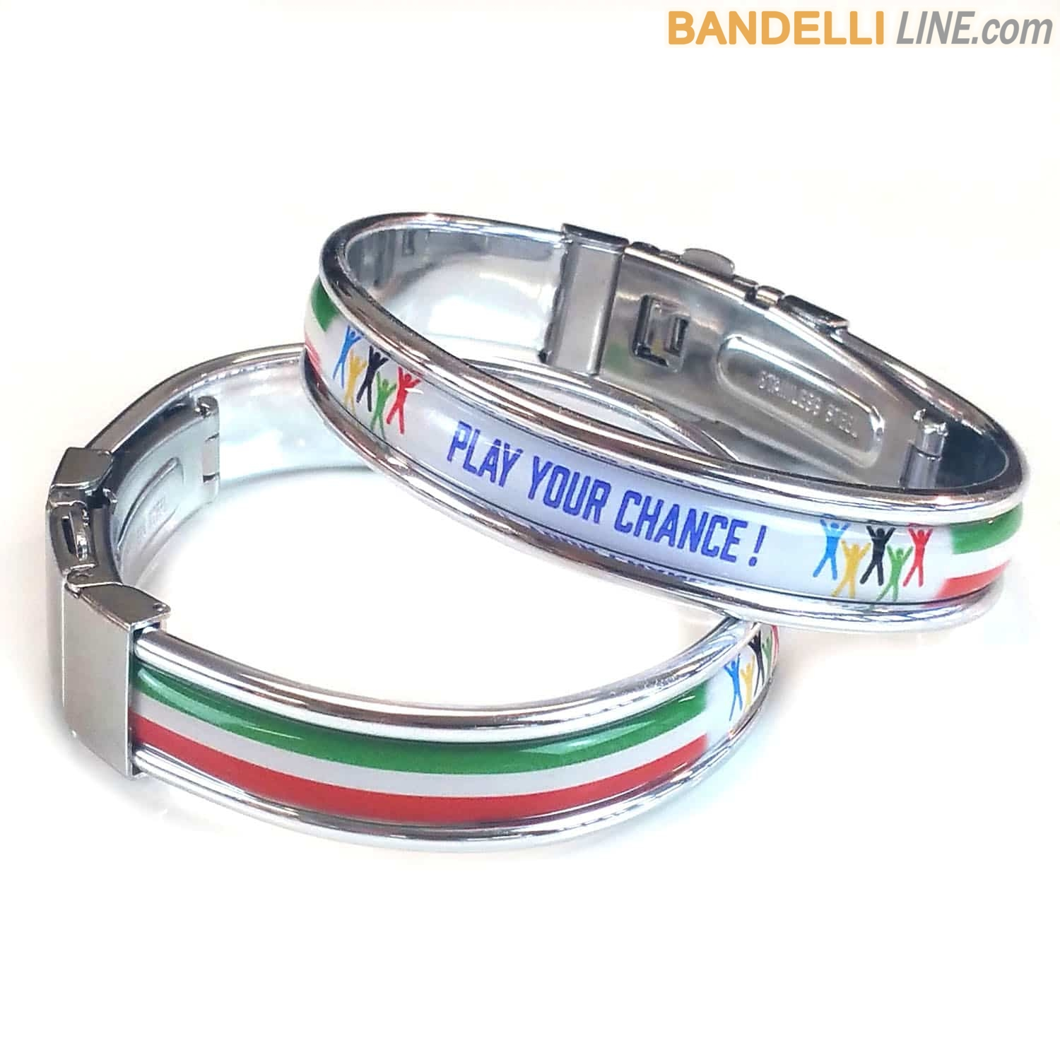 Braccialetto Tricolore Play Your Chance !