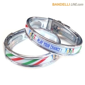 "Braccialetto "" Play Your Chance ! "" Tricolore Twist"